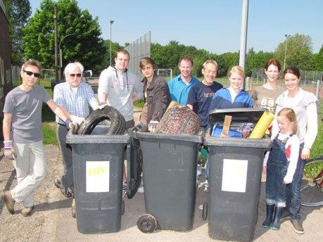 Henrichenburger SPD sammelt wieder Müll